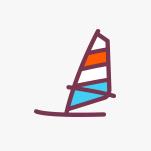 Ikonka obozu Obóz windsurfingowy